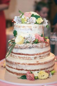 Naked cake...For real...it's a thing!